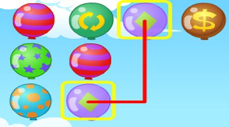 Screenshot - Colorful Balloons Link