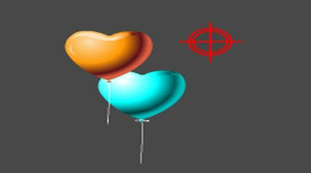 Screenshot - Heart Balloon Shoot