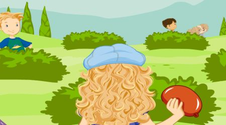 Screenshot - Holly Hobbie: Water Balloon Blast